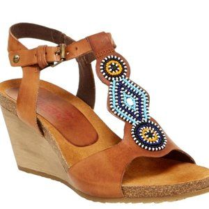 Pikolinos - Beaded Wedges - GREAT condition
